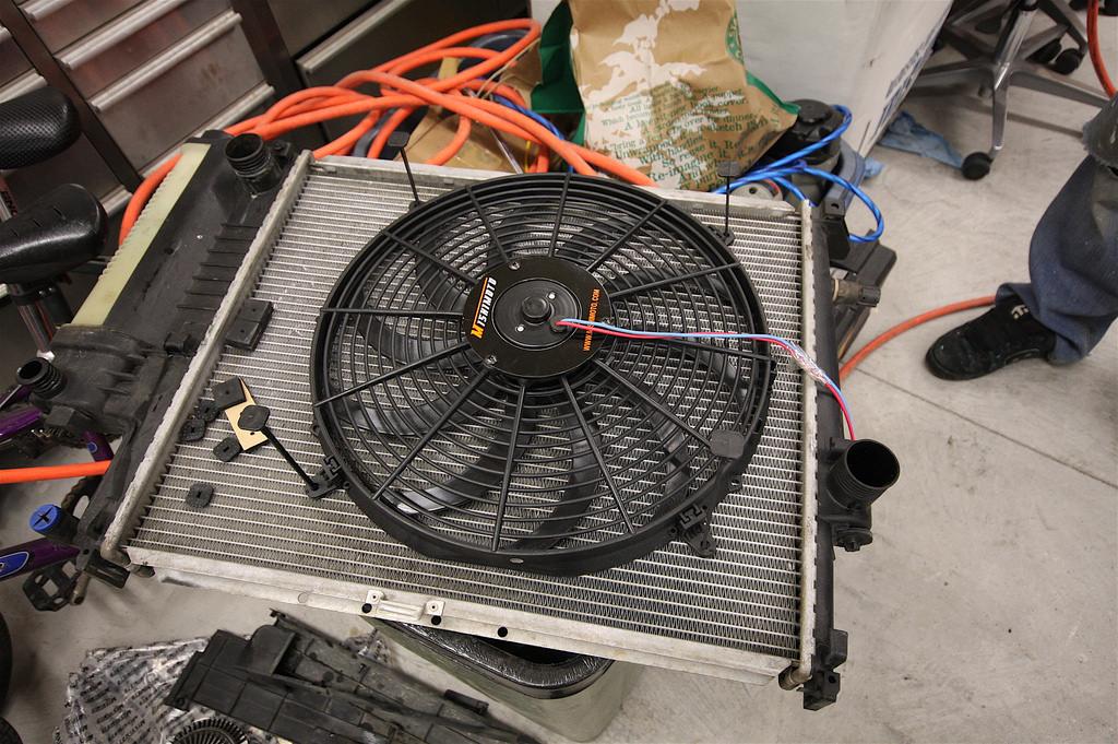Ventoinha do radiador. Via: Google imagens
