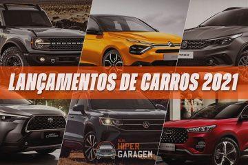 lançamentos carros 2021